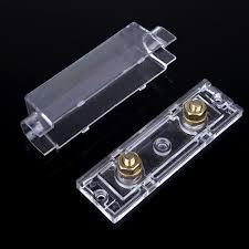 online get cheap amp fuse block aliexpress com alibaba group car style fuse holder anl fuse box distribution fuseholder fuse holder blade inline 0 4 8 gauge positive 300 amp