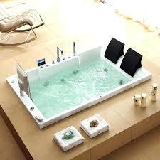 2 person jetted soaking tub freestanding indoor outdoor acrylic corner spa two bathtub bathtubs idea amazing 2 person acrylic soaking tub freestanding
