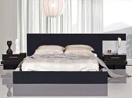 black lacquer bedroom furniture. kyoto night modern black lacquer bed with bedroom furniture b