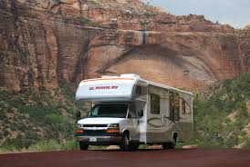 cl c motorhome in red rock canyon national conservation area