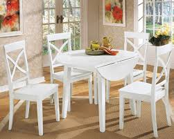small white dining set gloss table and cantilever