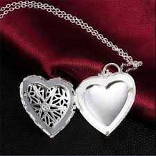 2016 fashion brand new vogue 925 sterling silver necklace pendant love heart locket chain fine jewelry jewelry boy jewelry glove jewelry cnc with