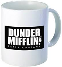 the office coffee mugs. dunder mifflin the office funny coffee mug by donbicentenario 11oz ships from usa mugs