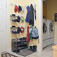Laundry Room Coat Rack Enchanting Coat Hooks Hat Racks And Organization For Mudroom
