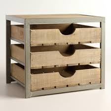 office desktop storage. Amusing Give Your Desktop Storage A Rustic Appeal With Our Apple Crate Inspired Organizer Contemporary Office