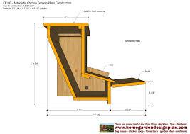 home garden plans cf100 automatic en feeder plans construction how to build a en feeders