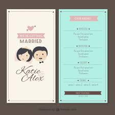 27 Images Of Wedding Menu Template Free Download Leseriail Com
