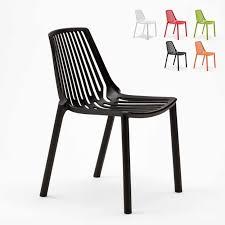 outdoor and indoor chairs for restaurant bar and stackable polypropylene garden design line sl677pp