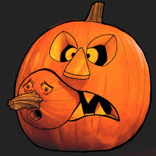 pumpkin drawing with shading. how to draw a jack-o-lantern eating baby pumpkin in easy halloween drawing tutorial with shading