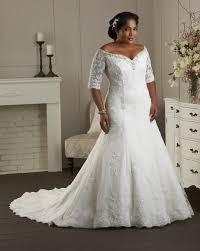 Ruffled Plus Size Organza Mermaid Wedding Dress  Style 3124  MorileePlus Size Wedding Dress Styles