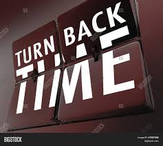 Words Turn Back Time Image Photo Free Trial Bigstock