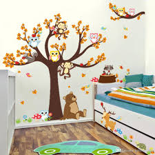 wall sticker past style background decor jungle theme forest