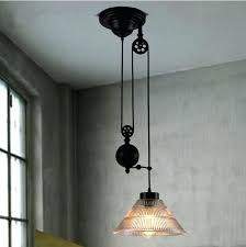 new modern loft vintage edison industrial pulley pendant lights w edison pendant light diy tumbler pendant
