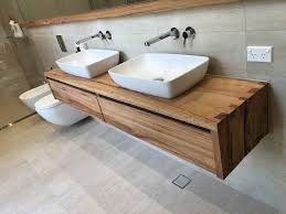how to order your new timber bathroom vanity