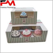 Custom Printed Bakery Cupcake Boxes Packaging Wholesale