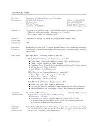 Ohio State Resume Template Best of Vitae Resume Template Curriculum Vitae Resume Template At Cv
