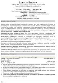 Usa Jobs Resume Writer Federal Resume Writing Service Professional Writers How To Write 67