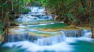 3840x2160, Waterfall River Landscape ...