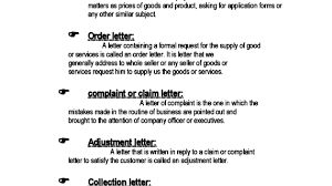 different types of letters different kinds of business letters the letter sample 570x320