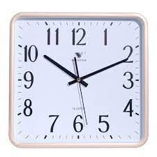 simple beautiful wall clocks square