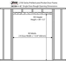 interior door rough