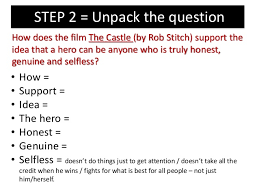how to answer an essay question on the hero  14