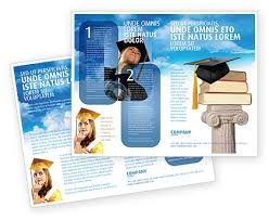 Education Brochure Templates University Education Brochure Template Design And Layout