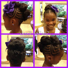 Ponytail Hairstyles For Black Girls Cute Little Girl Ponytail ...