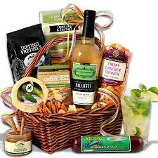 mojito gift basket a tisket a tasket gotta love a gift basket gift baskets gifts and basket