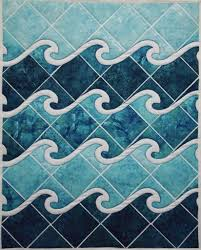 Ocean Wave Pattern Magnificent Inspiration Design
