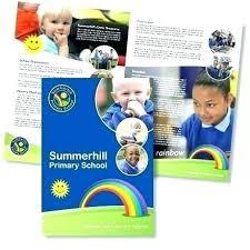College Brochure School Pamphlet Design Template Brochures