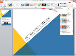 How To Create A Template In Powerpoint 2010 Applying And Modifying Themes In Powerpoint 2010