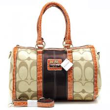 Coach In Signature Medium Khaki Luggage Bags APT