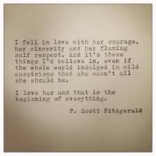 F Scott Fitzgerald Love Quote F Scott Fitzgerald Framed Love Quote Made On by farmnflea on Etsy 6