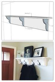 Behind The Door Coat Rack Our new coat rack behind the front door Our DIY Pinterest Coat 43