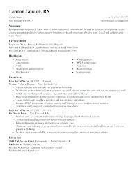 Staff Nurse Resume Format Nurse Resume Format Onlyhealth