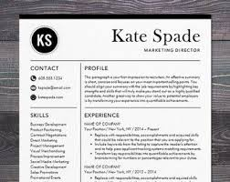 Modern Resume Templates Fascinating Resume Template Professional Creative Resume Instant Download CV