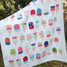 PDF Pattern for Scooped Single Twin Patchwork Quilt. Ice Cream & ð???zoom Adamdwight.com