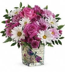 teleflora s wildflower in flight bouquet