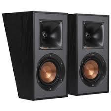 «<b>Специальная тыловая акустика</b> Klipsch R-41SA Black ...