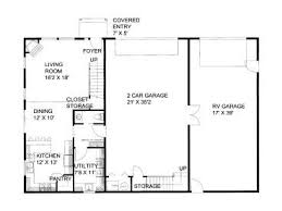 rv garage floor plans with apartments