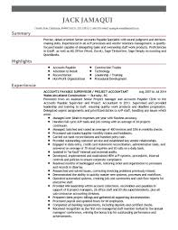 Accounts Payable Resume Lovely Accounts Payable Manager Resume