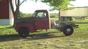 1949 Chevy 3600 parts truck rescue - YouTube