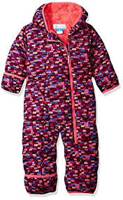 Amazon Com Columbia Baby Girls Frosty Freeze Bunting Dark
