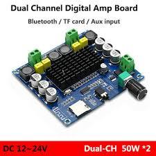 <b>NEW TDA7498</b> Digital Bluetooth <b>4.1</b> Audio Amp Amplifier Board ...