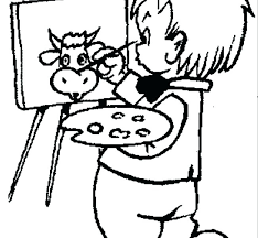 Paint Coloring Pages Painting Coloring Pages Barbie Face Coloring