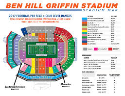 Faurot Field Seating Chart Rows Gator Stadium Seating Chart Seating Chart