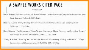 Mla Formatting For Works Cited Page 12 13 Format For A Works Cited Page Mini Bricks Com