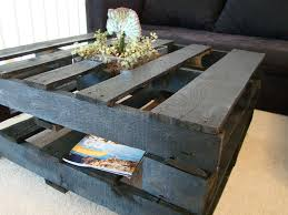 how to make a coffee table out of pallets