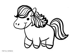 Disegni Di Cavalli Da Colorare Portale Bambini